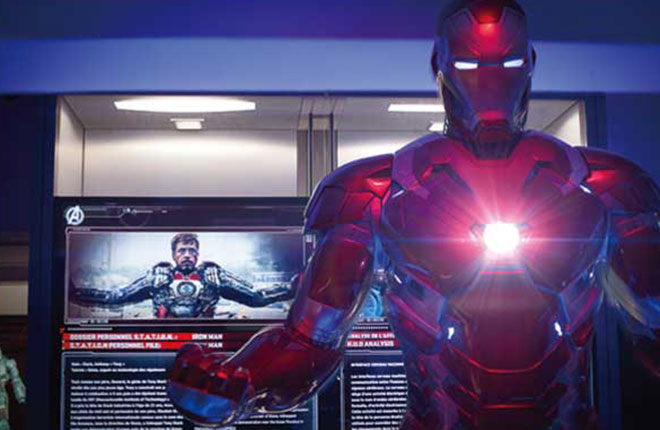 Marvel's 'AVENGERS S.T.A.T.I.O.N.' Exhibition