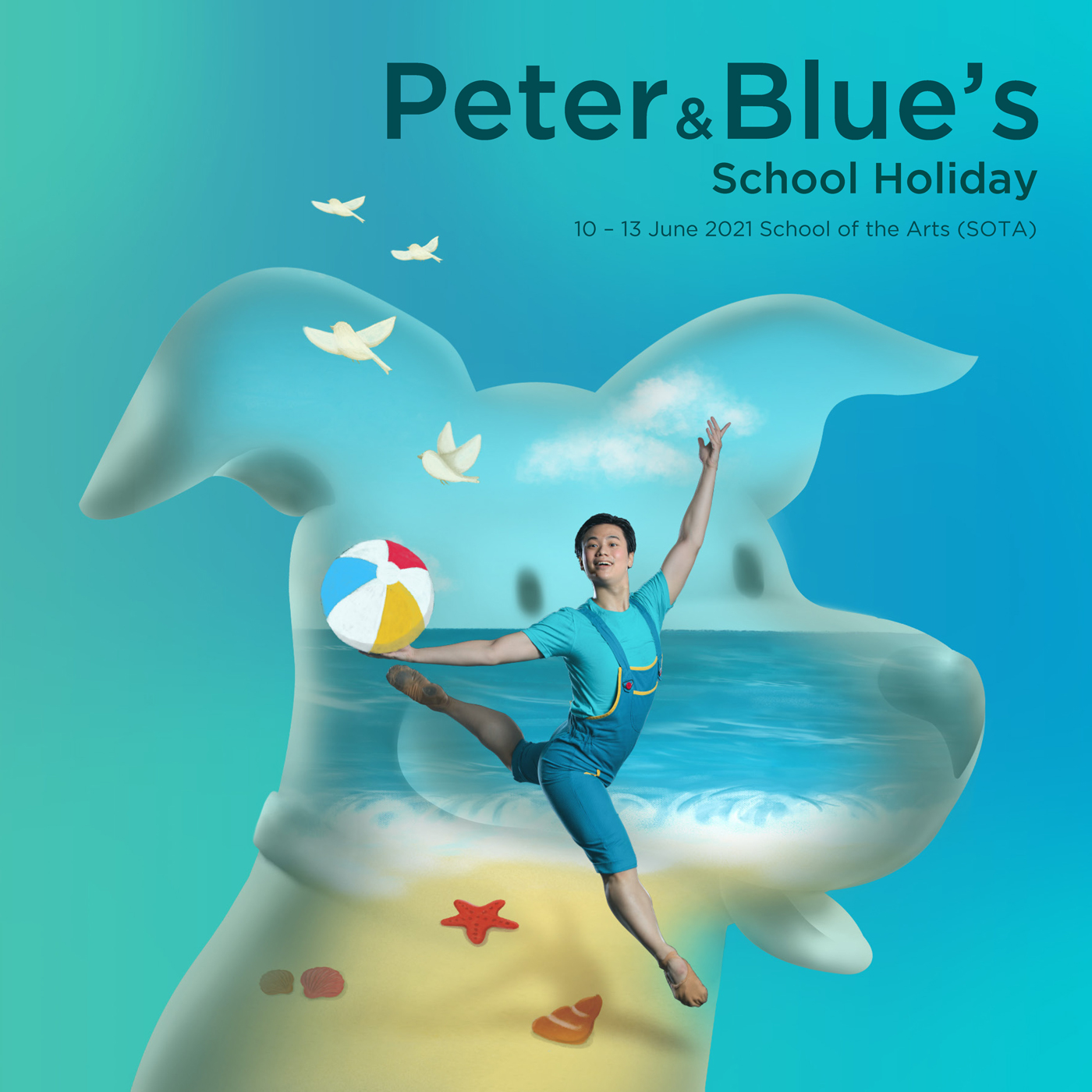 Peter & Blue's School Holiday
